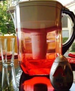 brita pitcher with mio