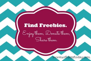 find freebies