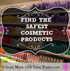 Thumbnail image for How to Find the Safest Cosmetic Products-Paraben Free