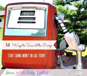 12 ways to save at the pump