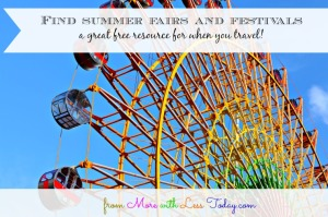 Thumbnail image for Find Summer Fairs and Festivals