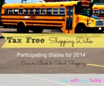 Thumbnail image for Tax Free Shopping Dates for Back to School Shopping for 2014