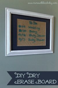 Thumbnail image for DIY Dry Erase Board