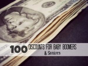 master list of senior discounts
