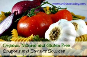 Thumbnail image for Organic, Gluten Free and Healthy Food Coupons and Sources
