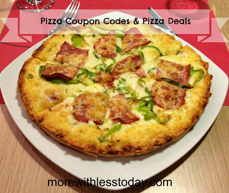 order pizza online using promo codes, find the best pizza deals today, pizza coupons, list of pizza chains with promotions today