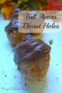 Thumbnail image for Acorn Donut Hole Fall Treats