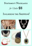 Thumbnail image for Statement Necklaces for Under $5 Including the Shipping!