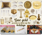Thumbnail image for Gilded Gift Ideas for 2014