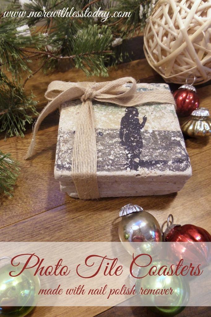 Photo Coasters DIY gift