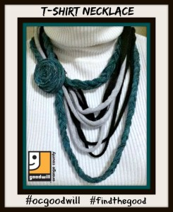 Thumbnail image for DIY Fashion: Make a Necklace from Old T-Shirts