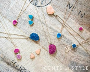 druzy jewelry necklaces sale