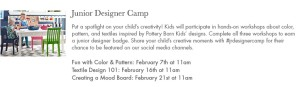 pottery barn kids store events image
