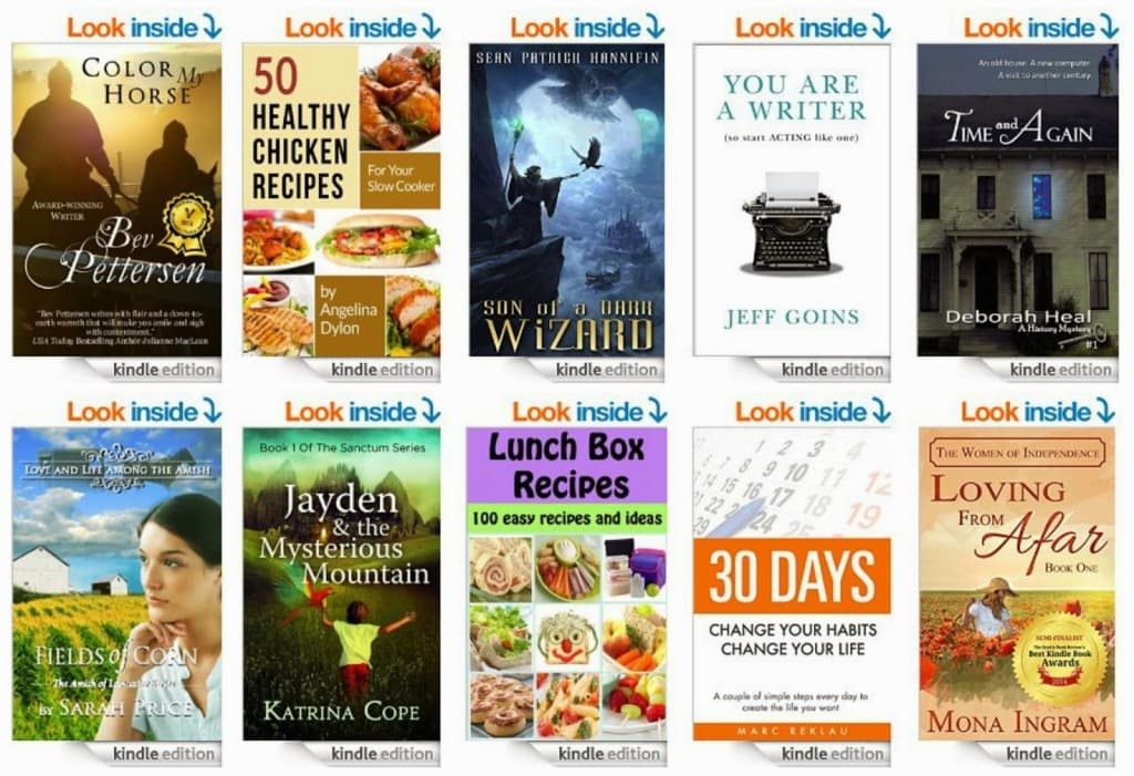 10 Free Kindle Books 3-31-15
