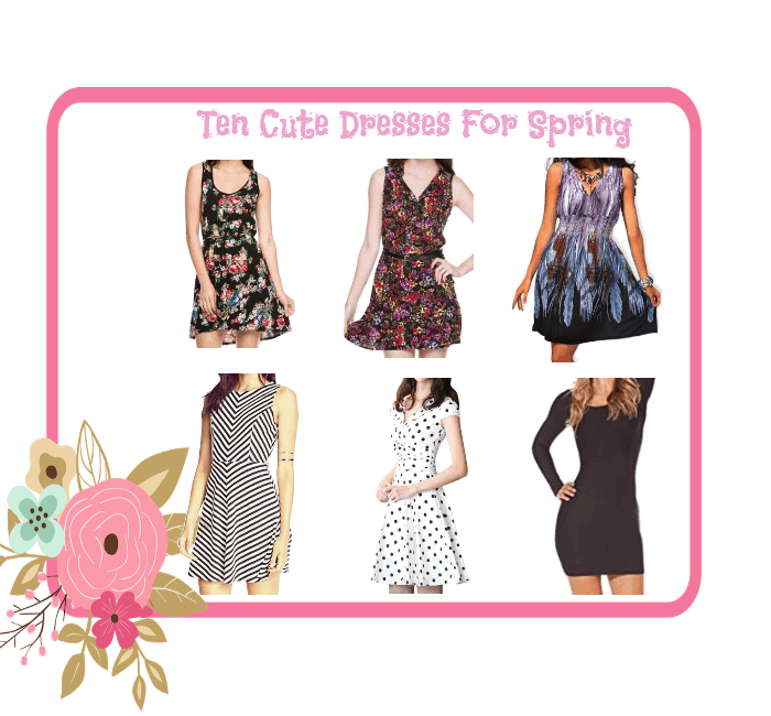 10 cute dresses for spring