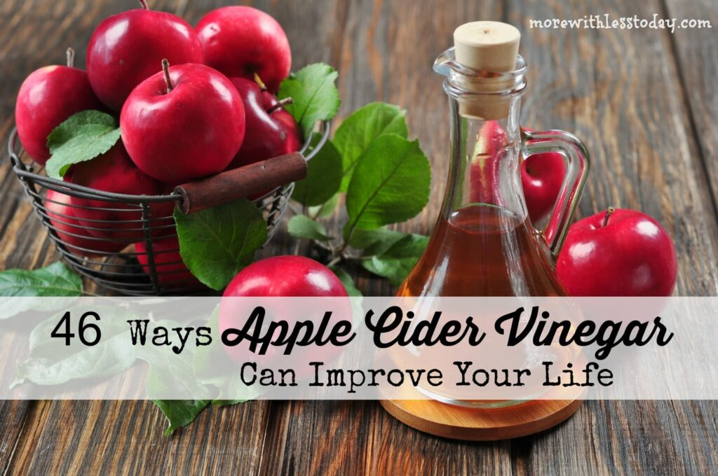 Did you know all 46 ways that Apple Cider Vinegar (ACV) can improve your life? From weight loss to household hacks, we are sharing ACV uses.