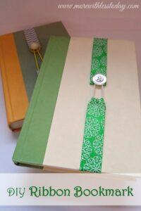 Thumbnail image for DIY Ribbon Bookmark