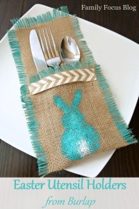 Easter Utensil Holder
