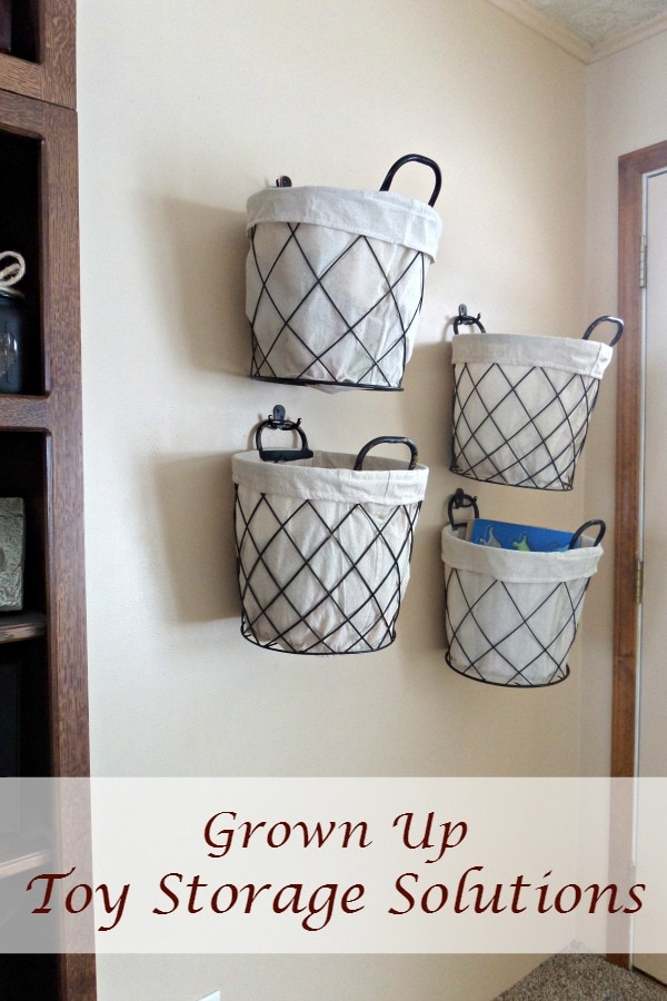 canvas storage bins for toys