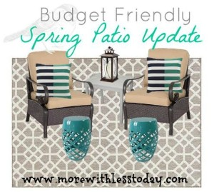 Thumbnail image for Kohl's Budget Friendly Patio Update with Kohl's Cash and Promo Codes