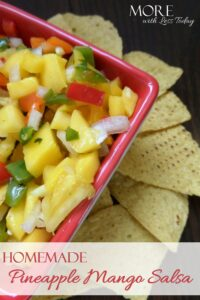 Thumbnail image for Homemade Pineapple Mango Salsa