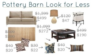 Thumbnail image for Pottery Barn Inspired Decor – Get the Look for Less