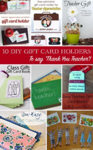 Thumbnail image for Creative Ways to Say Thank You -Teacher Gift Card Holders