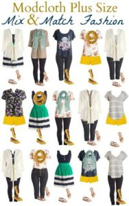 Thumbnail image for Modcloth Plus Size Fashion Board-15 Mix and Match Outfits
