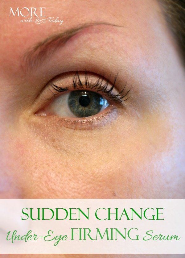 Sudden Change eye serum