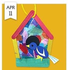sunny days birdhouse lakeshore learning