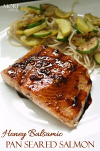 Thumbnail image for Honey Balsamic Pan Seared Salmon