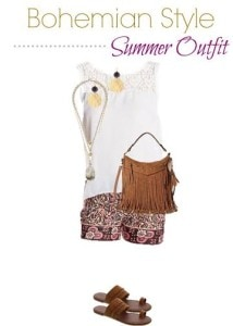 Thumbnail image for Bohemian Style Outfit on a Budget