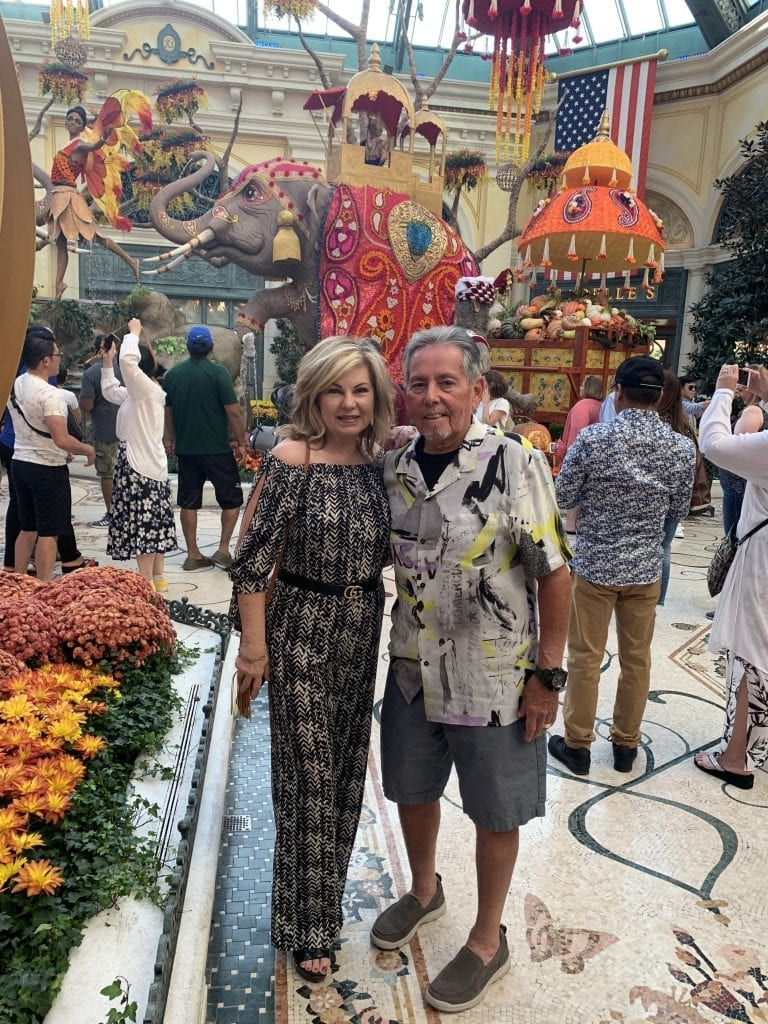 photo of Lori Felix at the Bellagio