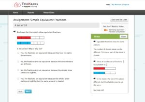 TenMarks Summer Math Program Work (2)