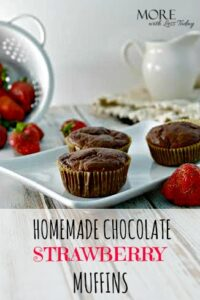 Thumbnail image for Homemade Fresh Strawberry Chocolate Muffins: Easy and So Delicious!