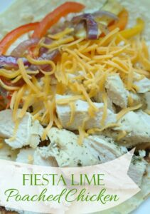 Thumbnail image for Fiesta Lime Poached Chicken