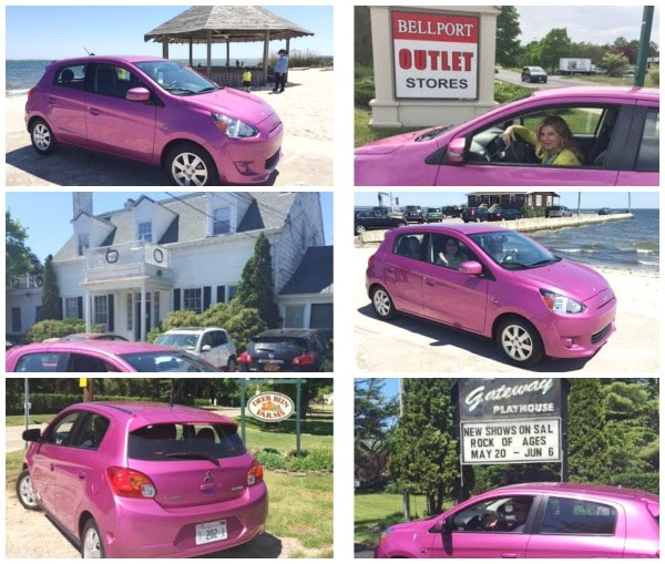 mitsubishi mirage collage