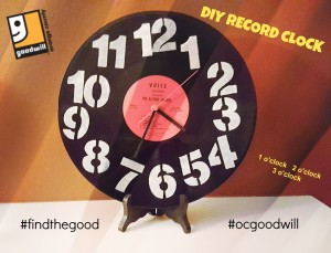 Thumbnail image for Make a Cool Retro Clock from an Old Vinyl Record