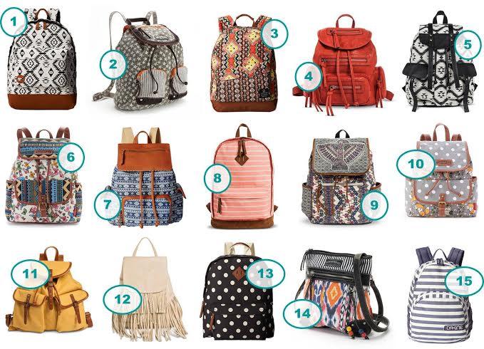15 Stylish Teen Girl Backpacks Under $30