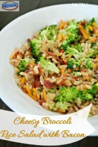 Thumbnail image for Cheesy Broccoli Rice Salad with Bacon