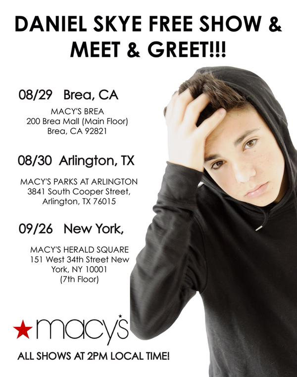 Macys and daniel skye back to school free event more with less macys and daniel skye back to school free event more with less today m4hsunfo