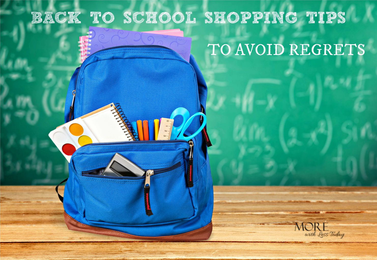 back to school shopping tips, smart shopping for back to school to avoid regrets, what to buy for back to school, tips for saving money for back to school