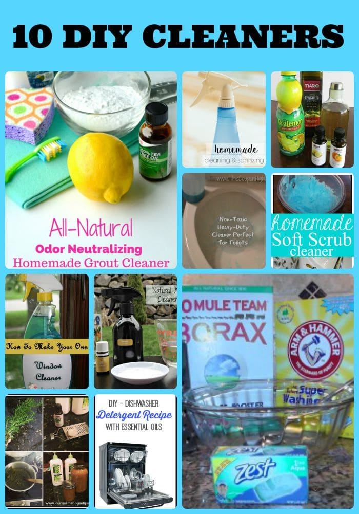 10 diy cleaning products you can make at home for Products you can make at home