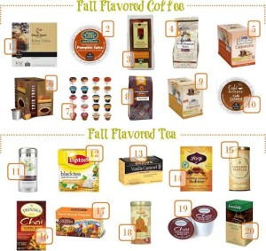 Thumbnail image for Fall Flavored Coffee and Tea for Under $1 Per Serving