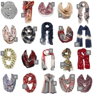 Thumbnail image for Inexpensive Fall Scarves to Change Up Your Look