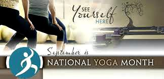 september is free yoga month