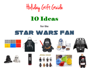 Thumbnail image for Inexpensive Gift Ideas for the Star Wars Fan