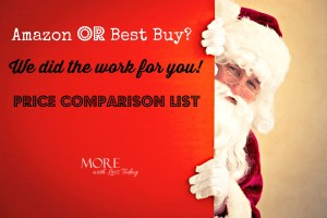 Thumbnail image for Who Has the Best Prices, Amazon or Best Buy? Black Friday Price Comparison