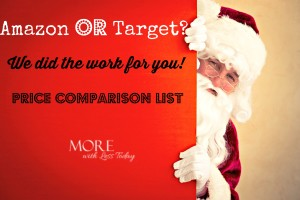 Thumbnail image for Who Has the Best Prices, Amazon or Target? Black Friday Price Comparison