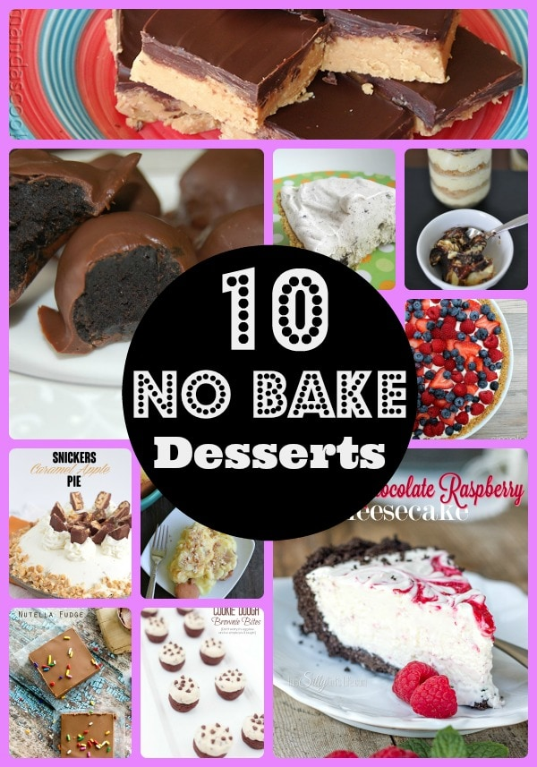 10 easy no bake desserts more with less today
